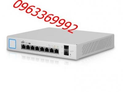UniFi US-8-150W Switch PoE Gigabit 24V & 802.3AF/AT (8 Port)
