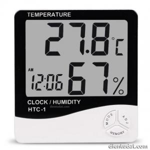 Nhiệt ẩm kế - Đồng hồ thời gian
