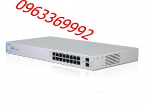 UniFi US-16-150W Switch PoE Gigabit 24V & 802.3AF/AT (16 Port)